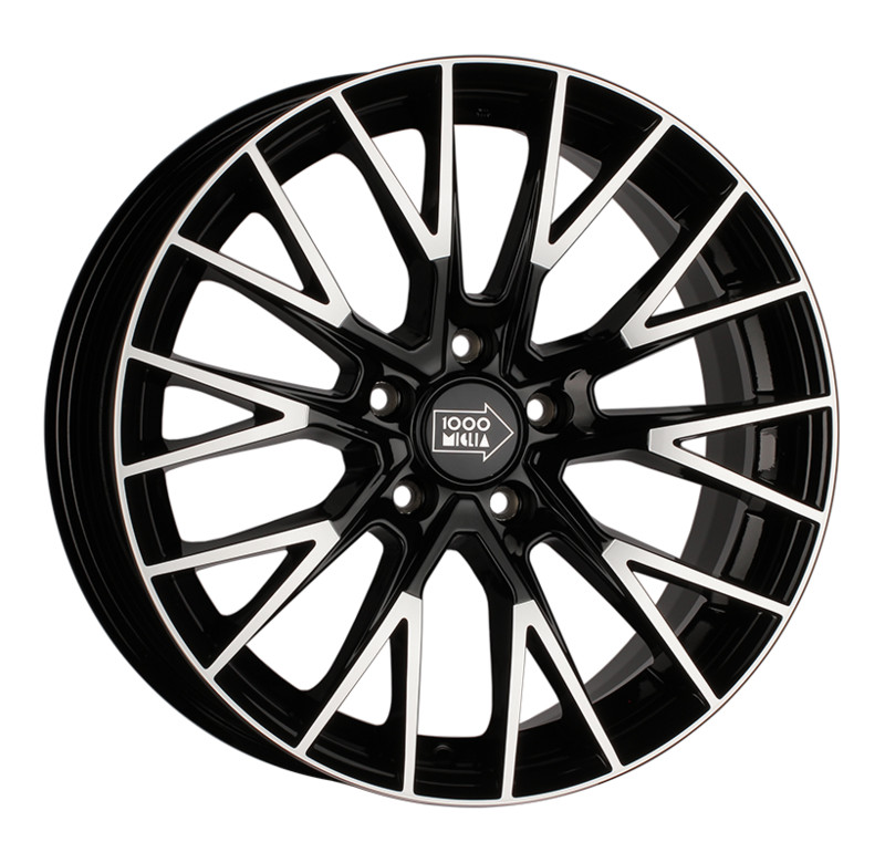 Диск 1000 Miglia MM1009 8 x 18 5*108 Et: 40 Dia: 63,4 Gloss Black Polished