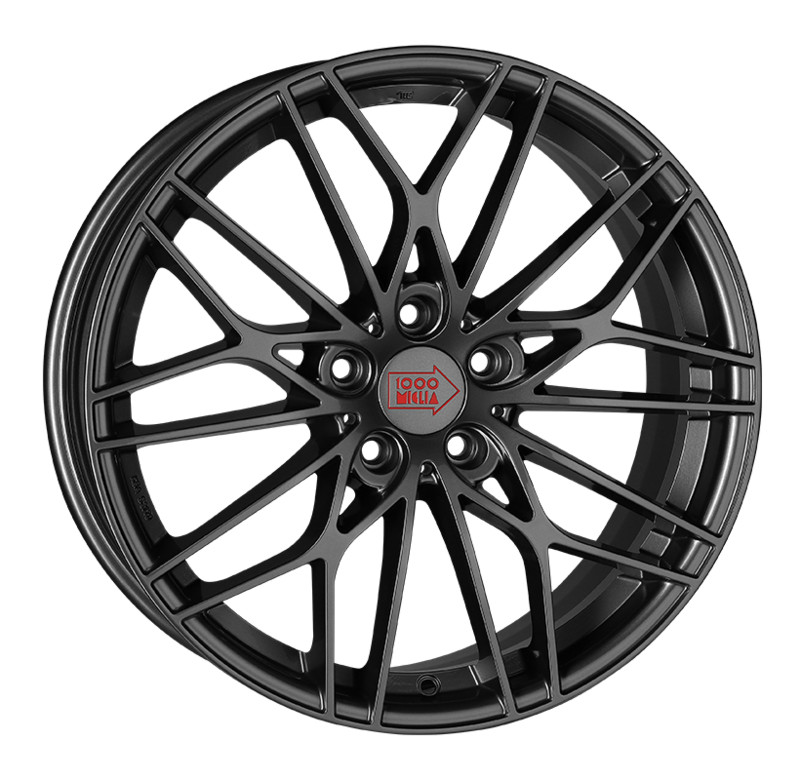 Диск 1000 Miglia MM1015 8 x 19 5*114,3 Et: 45 Dia: 67,1 Dark Anthracite High Gloss